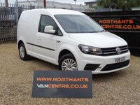 2018 VOLKSWAGEN CADDY 2.0 TDI BLUEMOTION TECH C20 TRENDLINE EURO6 101BHP £13490.00