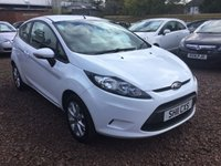2011 FORD FIESTA 1.2 EDGE 3d 59 BHP £3650.00