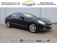 USED 2012 62 MERCEDES-BENZ E-CLASS 1.8 E250 CGI BLUEEFFICIENCY S/S SE 2d AUTO 204 BHP 1 Owner Full Mercedes History Buy Now, Pay in 2 Months!