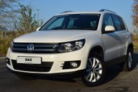 2013 VOLKSWAGEN TIGUAN 2.0 MATCH TDI BLUEMOTION TECHNOLOGY 4MOTION 5d 139 BHP £12490.00