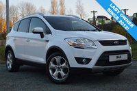 USED 2011 61 FORD KUGA 2.0 TITANIUM TDCI AWD 5d AUTO 163 BHP 54,000 MILES! DAB! HEATED FRONT SCREEN! LADY OWNER!