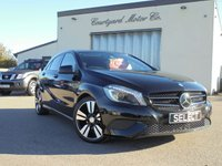 2014 MERCEDES-BENZ A CLASS 1.5 A180 CDI BLUEEFFICIENCY SPORT 5d AUTO 109 BHP £12995.00