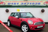 2009 MINI HATCH COOPER 1.6 COOPER 3d 118 BHP £4500.00