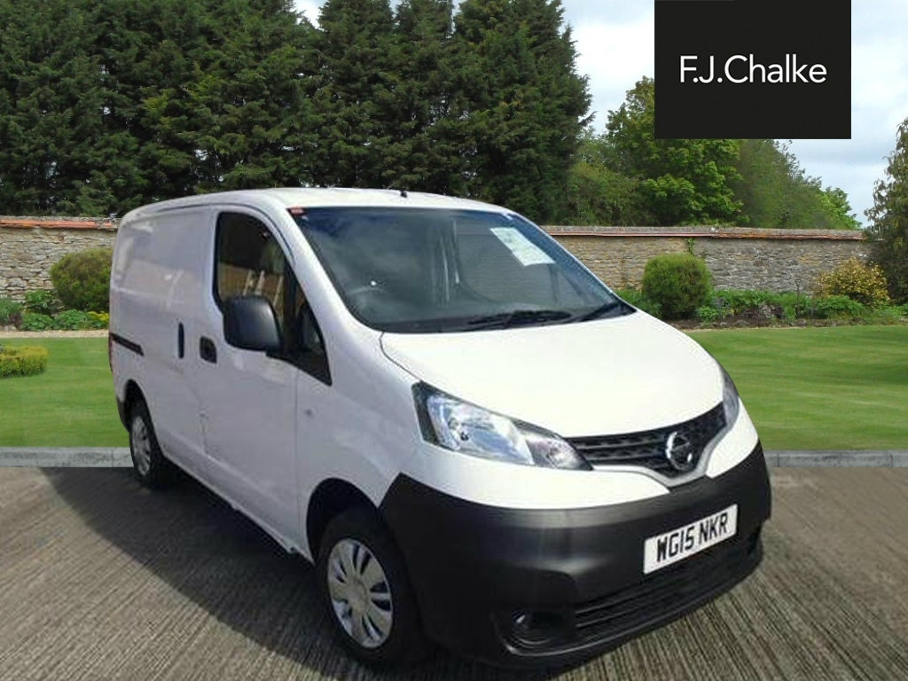 View our 2018 NISSAN NV200 DCI ACENTA 1.5TD Acenta Panel Van Diesel Manual (128 g/km, 89 bhp)