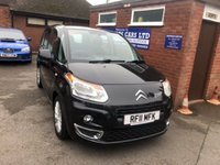 USED 2011 11 CITROEN C3 PICASSO 1.6 PICASSO VTR PLUS HDI 5d 90 BHP FULL SERVICE HISTORY