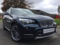 2014 BMW X1 2.0 XDRIVE20D XLINE 5d AUTO 181BHP £10990.00