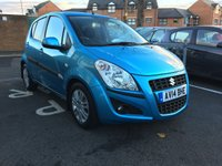 USED 2014 14 SUZUKI SPLASH 1.2 SZ4 5d AUTO 94 BHP ONLY 4036 MILES ,CHEAP TO RUN , LOW CO2 EMISSIONS(131G/KM), LOW ROAD TAX, AND EXCELLENT FUEL ECONOMY! GOOD SPECIFICATION WITH PARKING SENSORS, AIR CONDITIONING, ALLOY WHEELS AND AUXILLIARY INPUT/USB!