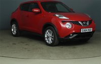 2014 NISSAN JUKE 1.2  DIG-T ACENTA PREMIUM 5d WITH SERVICE HISTORY £8500.00