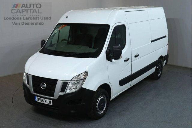 2015 15 NISSAN NV400 2.3 DCI SE 125 BHP L2 H3 MWB H/ROOF FWD VAN ONE OWNER SPARE KEY