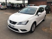 USED 2012 12 SEAT IBIZA 1.4 SE 5d 85 BHP ONE LADY OWNER