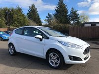 2013 FORD FIESTA 1.25 ZETEC 3d  WITH FULL FORD SERVICE HISTORY £5250.00