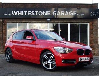 2013 BMW 1 SERIES 1.6 116I SPORT 5d 135 BHP £9795.00