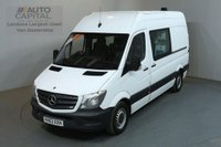 USED 2013 63 MERCEDES-BENZ SPRINTER 2.1 313 CDI MWB 129 BHP LWB H/ROOF 8 SEATER COMBI MESS VAN FITTED WORKING TOILET & CAMERA