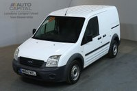 USED 2012 62 FORD TRANSIT CONNECT 1.8 T200 75 BHP TDI FWD SWB LOW ROOF VAN  TWO OWNER FULL S/H SPARE KEY