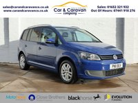 USED 2011 11 VOLKSWAGEN TOURAN 2.0 SE TDI BLUEMOTION TECHNOLOGY 5d 138 BHP Full VW History A/C + Sensors Buy Now, Pay Later Finance!