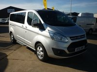 2015 FORD TOURNEO CUSTOM 2.2 300 LIMITED TDCI  125PS With Nav Rear aicon and much more £15995.00