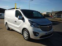 2015 VAUXHALL VIVARO 1.6 2700 L1H1 CDTI P/V SPORTIVE  114 BHP AIRCON BLUETOOTH CRUISE CONTROL AND MORE £8995.00