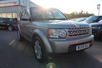 2010 LAND ROVER DISCOVERY 3.0 4 TDV6 GS 5d AUTO 245 BHP £12995.00
