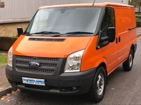 2013 FORD TRANSIT 2.2 RWD 330 SWB LOW ROOF 100 BHP 6 SPEED £6495.00
