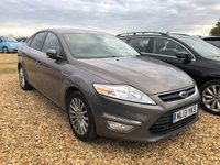 USED 2013 13 FORD MONDEO 2.0 ZETEC BUSINESS EDITION TDCI 5d 138 BHP