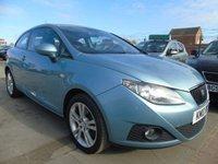 2010 SEAT IBIZA 1.6 SPORT CR TDI FULL SERVICE DRIVES A1 £3495.00