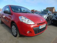 2009 RENAULT CLIO 1.1 PETROL EXTREME FULL SERVICE £1496.00