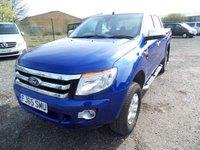 2015 FORD RANGER 2.2 XLT 4X4 DCB TDCI 1d 148 BHP £9995.00