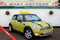 2010 MINI HATCH COOPER 1.6 COOPER 3d 122 BHP £4800.00
