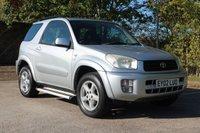 2002 TOYOTA RAV4 2.0 NRG VVT-I 3d 146 BHP £2750.00