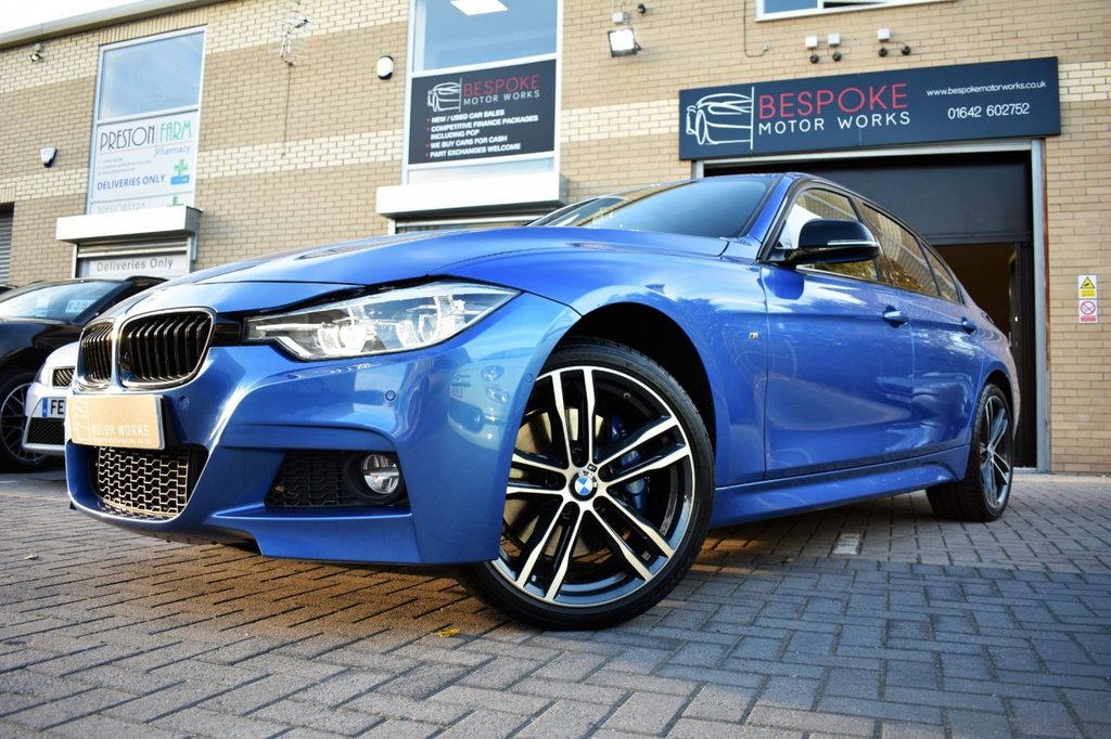 USED 2018 18 BMW 3 SERIES 320D XDRIVE M SPORT SHADOW EDITION SALOON AUTOMATIC