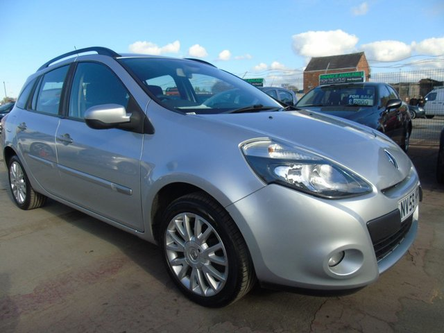 USED 2010 59 RENAULT CLIO 1.5 DYNAMIQUE DCI ESTATE DRIVES WELL