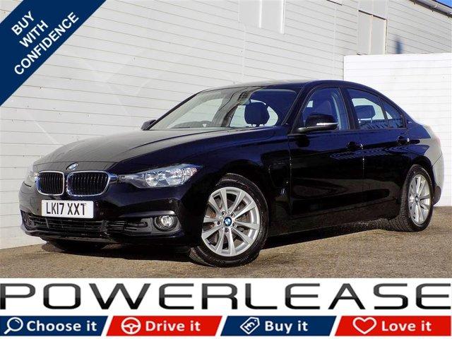 USED 2017 17 BMW 3 SERIES 2.0 330E SE 4d AUTO 181 BHP DAB SAT NAV FBMWSH FREE TAX