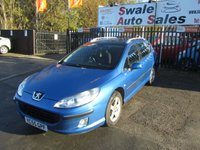 USED 2005 55 PEUGEOT 407 1.6 SW SE HDI 5d 108 BHP FINANCE FROM £18 PER WEEK OVER TWO YEARS - SEE FINANCE LINK