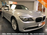 USED 2011 61 BMW 7 SERIES  730D RARE SE LUXURY EDITION DIESEL AUTO UK DELIVERY* RAC APPROVED* FINANCE ARRANGED* PART EX