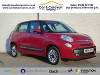 USED 2014 14 FIAT 500L 1.3 MULTIJET LOUNGE 5d 85 BHP Service History A/C Bluetooth Buy Now, Pay Later!