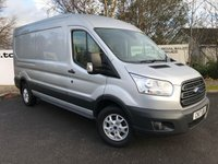 USED 2017 17 FORD TRANSIT 350 RWD 2.0 130 BHP TREND L3 H2 P/V **70 VANS IN STOCK**