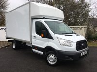 USED 2016 16 FORD TRANSIT 350 RWD 2.2 125 BHP LUTON TAIL LIFT**70 VANS IN STOCK**