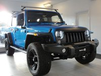 2015 JEEP WRANGLER 2.8 CRD OVERLAND UNLIMITED 4d AUTO 197 BHP, HUGE SPECIFICATION, FULLY LOADED £32994.00