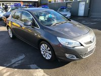 2010 VAUXHALL ASTRA 1.6 ELITE 5 DOOR AUTOMATIC 113 BHP IN GREY WITH A FULL LEATHER INTERIOR £4799.00