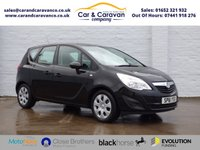 USED 2011 61 VAUXHALL MERIVA 1.4 EXCLUSIV 5d 98 BHP Service History A/C + Sensors Buy Now, Pay Later!