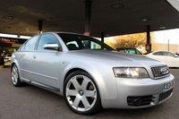 2004 AUDI A4 4.2 S4 QUATTRO 4d 339 BHP £6990.00