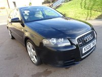 USED 2006 06 AUDI A3 2.0 TDI QUATTRO S LINE 3d 138 BHP SERVICE RECORD *  MOT JUNE 2019 *  PART LEATHER TRIM  *  TIMING BELT CHANGED *