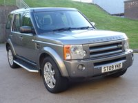 2009 LAND ROVER DISCOVERY 2.7 3 TDV6 HSE 5d AUTO 188 BHP £11500.00