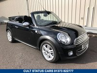 2015 MINI CONVERTIBLE 1.6 COOPER 122 BHP PETROL CHILI PACK £11495.00