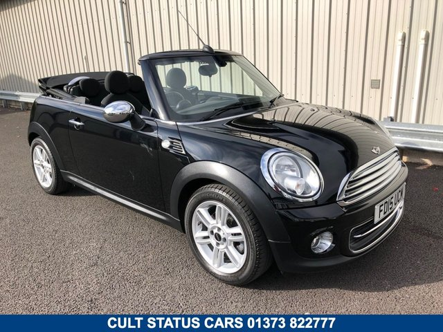 2015 15 MINI CONVERTIBLE 1.6 COOPER 122 BHP PETROL CHILI PACK