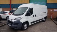 2014 CITROEN RELAY 2.2 35 L3H2 ENTERPRISE HDI 1d 129 BHP SAT-NAV £6777.00