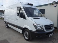 2014 MERCEDES-BENZ SPRINTER 313 CDI MWB GAH CHILLER, 130 BHP [EURO 5], LOW MILES £SOLD