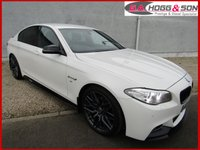 2015 BMW 5 SERIES 2.0 520D M SPORT 4dr AUTO 190 BHP **TOTALLY AS NEW THROUGHOUT** £17795.00