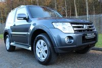 USED 2007 57 MITSUBISHI SHOGUN 3.2 GLX EQUIPPE SWB DI-D 3d 160 BHP AN IDEAL WINTER VEHICLE WITH A FULL SERVICE HISTORY!!!