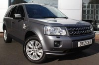 USED 2012 12 LAND ROVER FREELANDER 2.2 TD4 XS 5d 150 BHP *** FULL  SERVICE HISTORY;4 WHEEL DRIVE***
